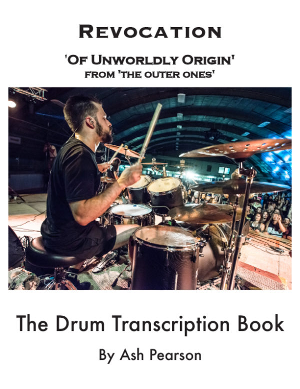 Of Unworldly Original Drum Transcription
